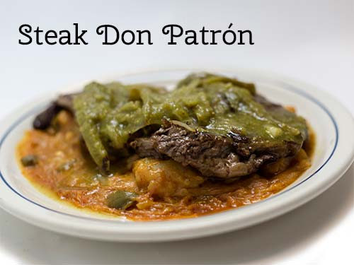 Steak Don Patron